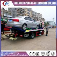 Dongfeng One with Two Flatbed Wrecker